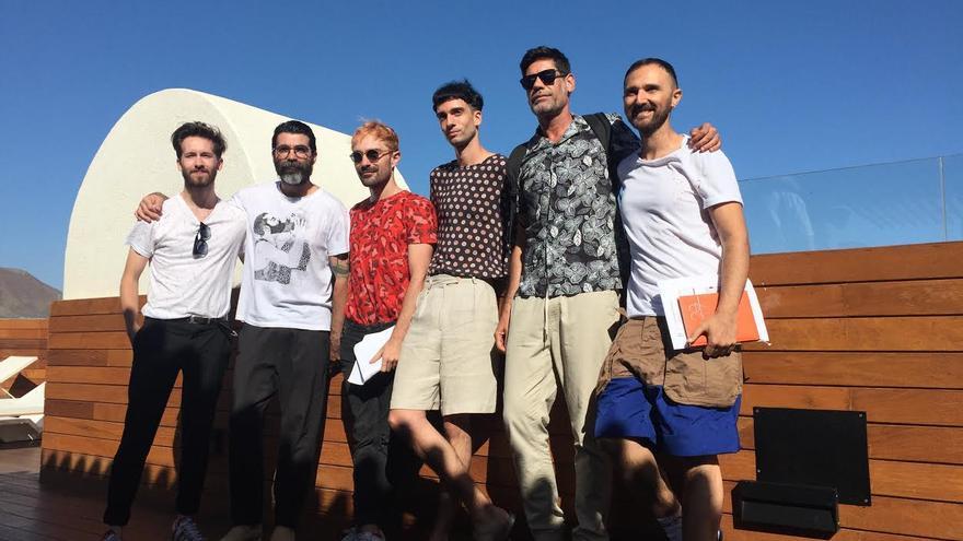 Diseñadores y periodistas de la conferencia 'Moda en el siglo XXI'
