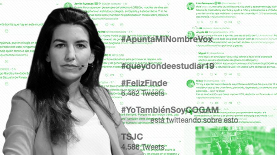 """""""Apunta mi nombre, Vox"""": el colectivo LGTBI responde tras la petición de Monasterio de la lista de instructores de talleres en los colegios"""