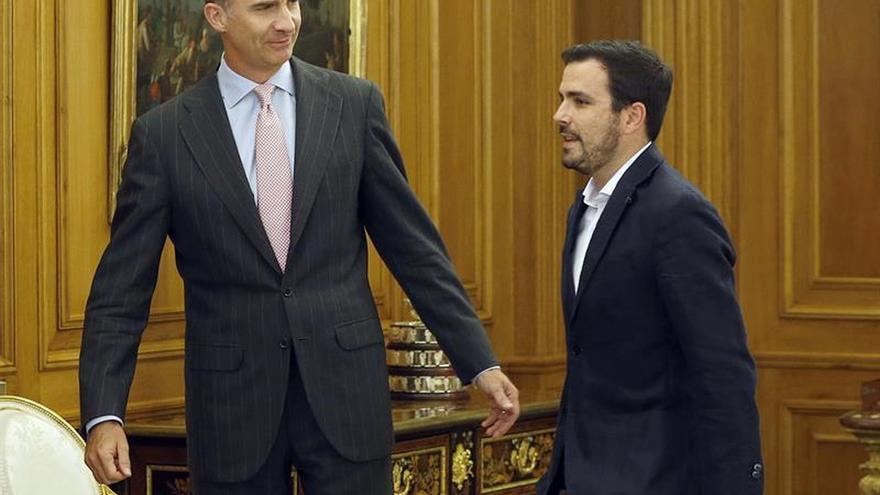 El Rey continúa su ronda de consultas con cinco partidos políticos