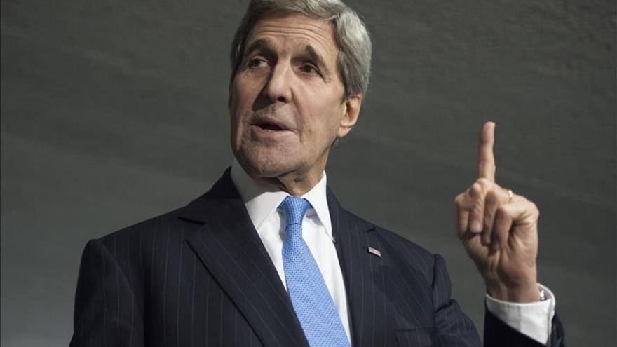 Kerry visitará el domingo Roma para un encuentro ministerial sobre Libia