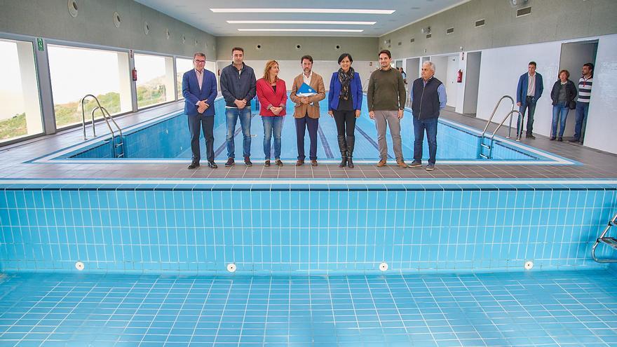 Foto realizada este jueves en el interior del recinto de la piscina cubierta