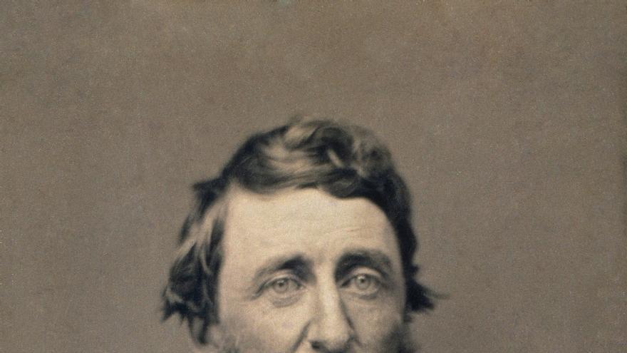 Henry David Thoreau [Daguerrotipo, Benjamin Maxham, 1856].