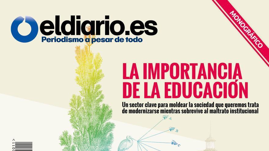 Esta revista de eldiario.es es un gran especial sobre educación y sobre el sistema de enseñanza en España