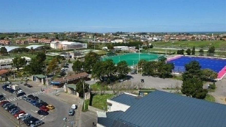 Complejo Municipal de Deportes 'Ruth Beitia' de Santander.   ARCHIVO