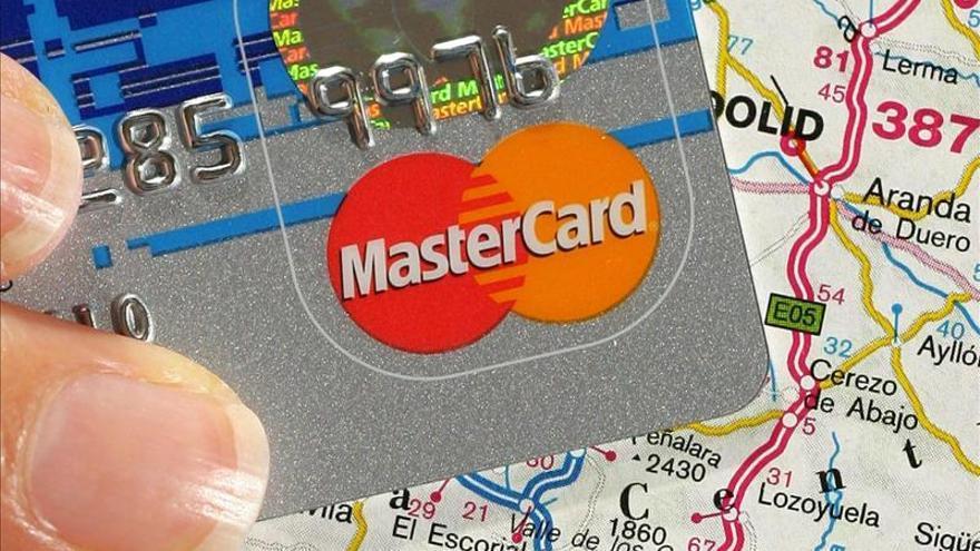 Mastercard aumenta un 12 por cinento su beneficio trimestral hasta 766 millones de dólares