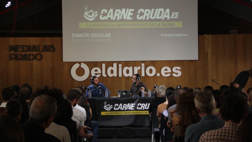 Javier Gallego entrevista a Ignacio Escolar en el 5º aniversario de eldiario.es