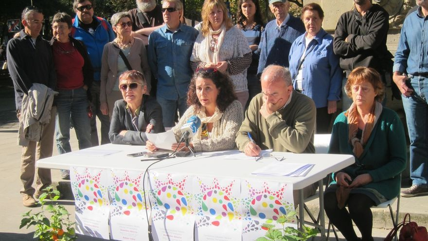 Personas de diferentes ámbitos piden una candidatura unitaria en Navarra para las elecciones generales
