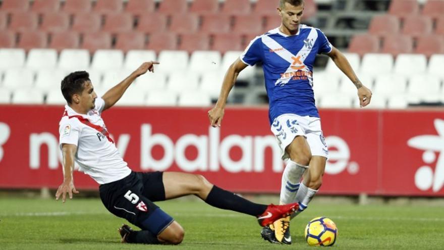 Partido entre El Sevilla Atlético y el CD Tenerife