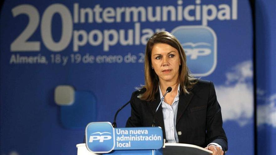 Cospedal, absuelta en el juicio sobre los seguimientos a dirigentes del PP