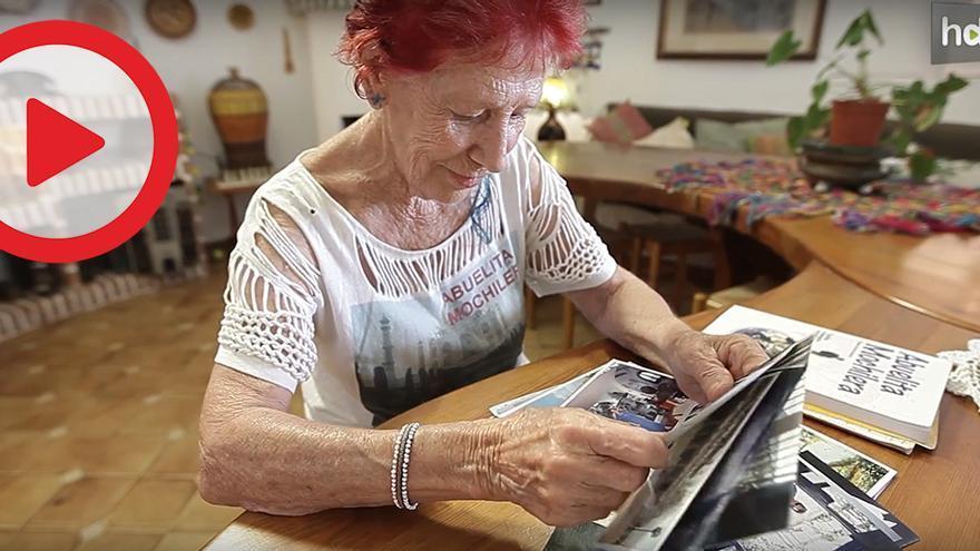 Kandy García, la abuelita mochilera que cumplió su sueño de dar la vuelta al mundo