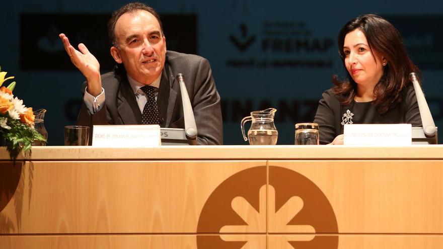 Manuel Marchena y Sandra Santana. (ALEJANDRO RAMOS)