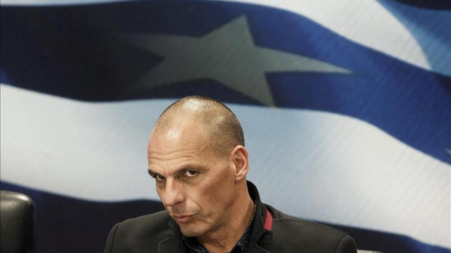 El ministro de Finanzas griego inicia la ronda de contactos con sus homólogos europeos