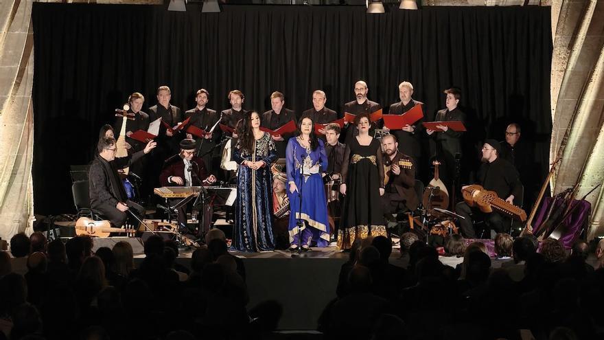 Capella de Ministrers propone un recorrido por la historia musical de la Ruta de la Seda