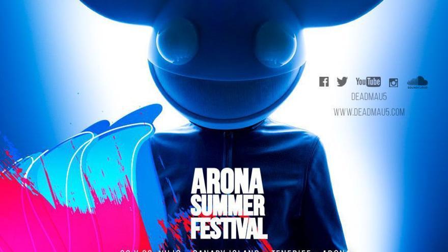 Cartel Arona Summer Festival 2016.