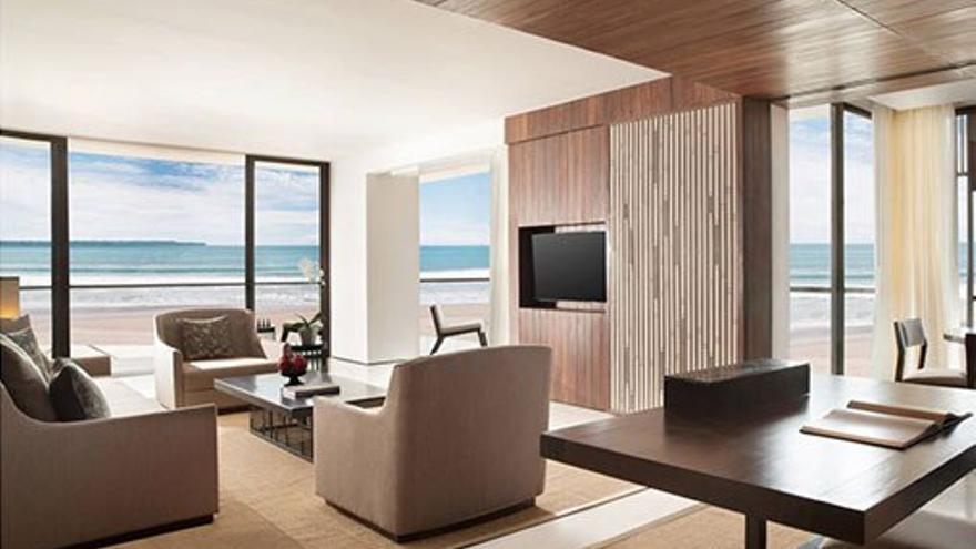 Interior de la suite de playa. (Cedida a Canarias Ahora)