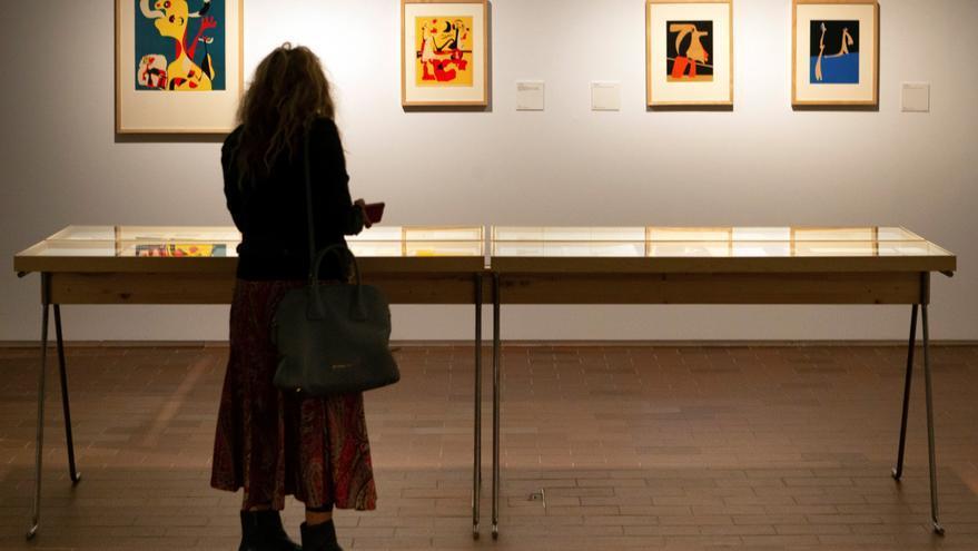 La Fundació Miró revisa el vínculo del artista con la modernidad del grupo ADLAN