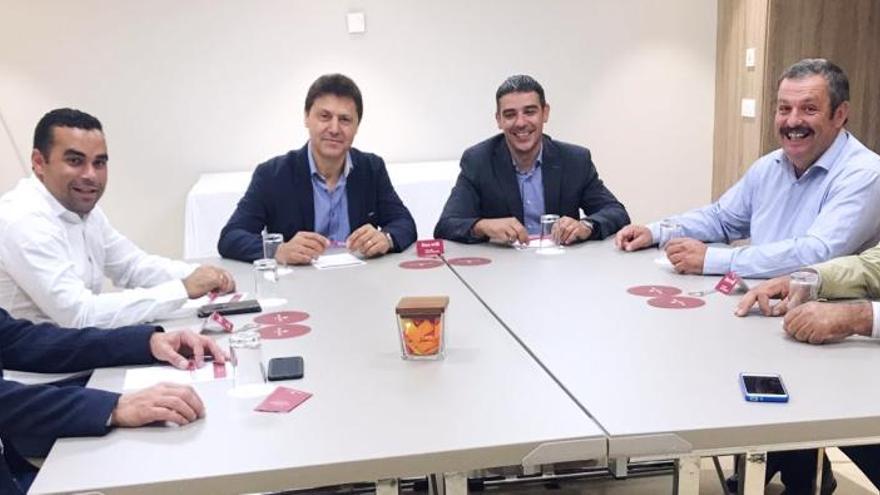 Imagen de la reunión mantenida este miércoles en Madrid