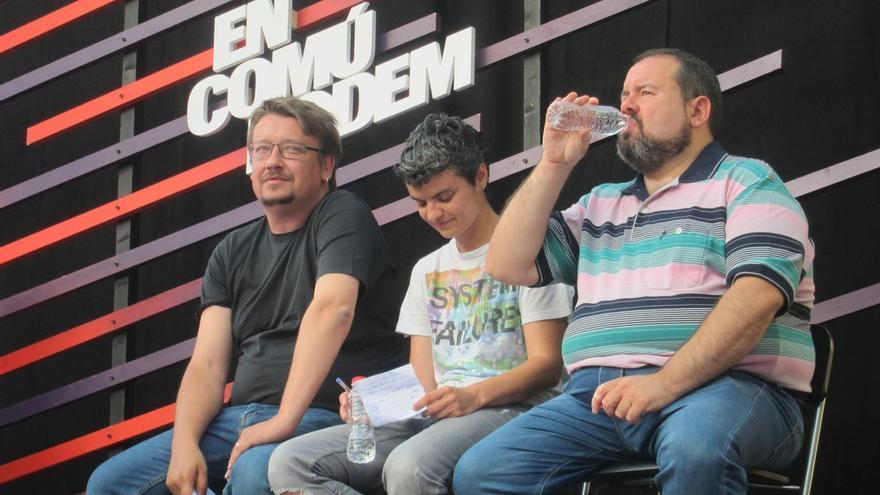 Domènech dice que la victoria de ECP también será la de las clases populares y medias