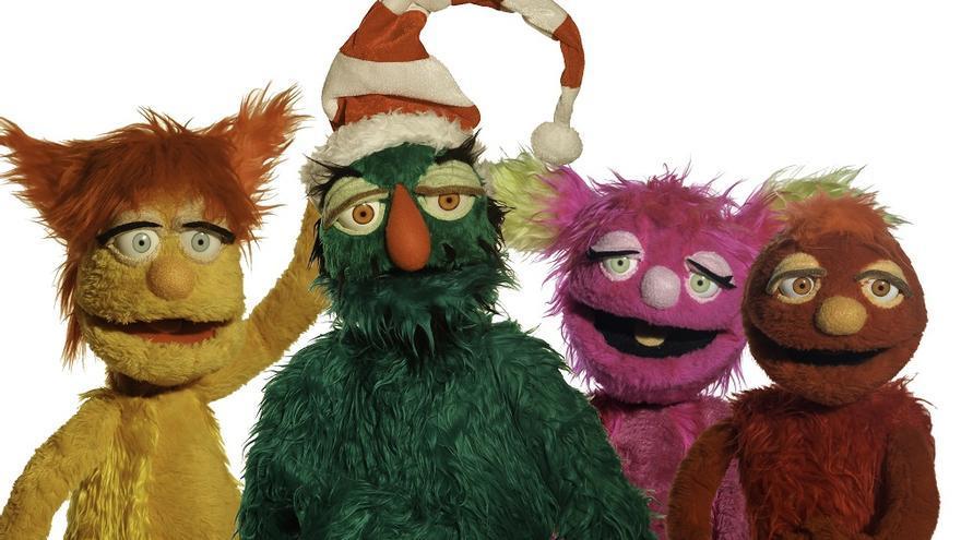 Personajes de la obra 'Alf, el muñeco de nieve'.