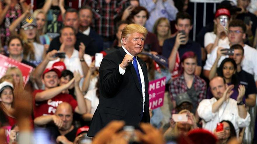 Donald Trump en un mitin en Las Vegas. Imagen de archivo