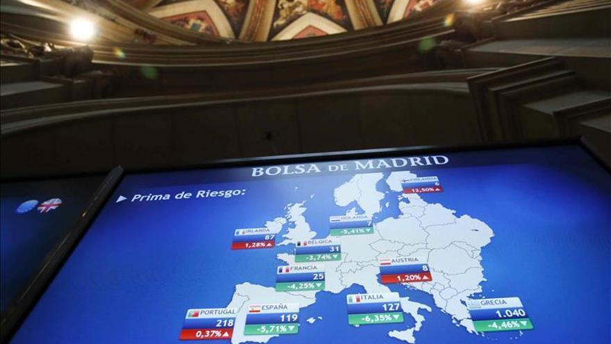 La prima de riesgo española sube a 130 puntos en la apertura