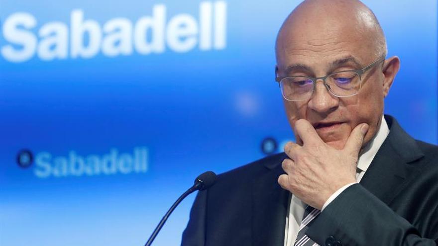 El Banco Sabadell gana 216 millones, 14 % menos, por costes tecnológicos de TSB