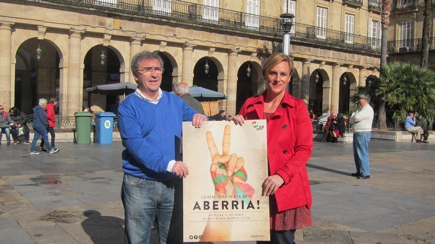"""PNV cree que, """"acabada la violencia, se abre una inmejorable oportunidad para un nuevo acuerdo nacional"""" en Euskadi"""