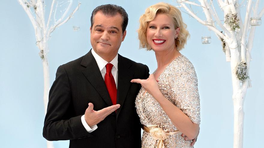 Ramón García vuelve a TVE para dar las campanadas 2017 con Anne Igartiburu