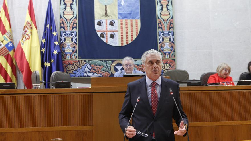 El diputado del PP en las Cortes de Aragón Antonio Suárez en una imagen de archivo