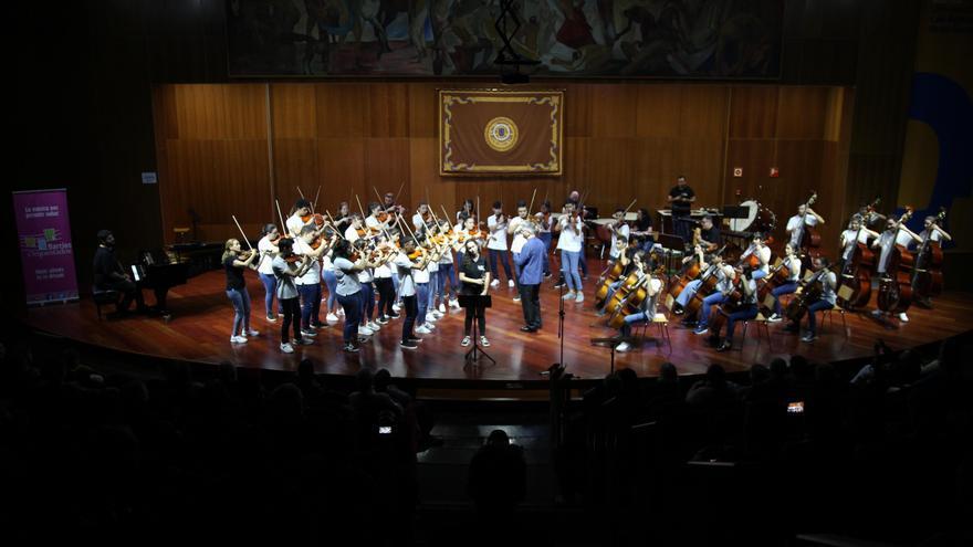 Concierto de Barrios Orquestados en el Paraninfo de la Universidad de Las Palmas de Gran Canaria