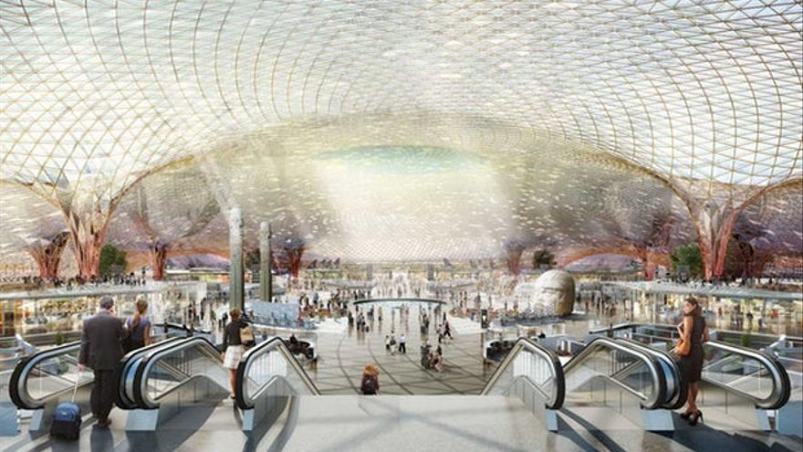 Interior del proyecto // Foster + Partners