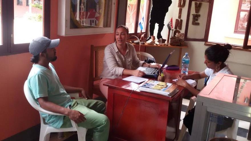 Yolanda Pereira, en su trabajo como arqueóloga con la Alcaldía de Somoto / Felcode