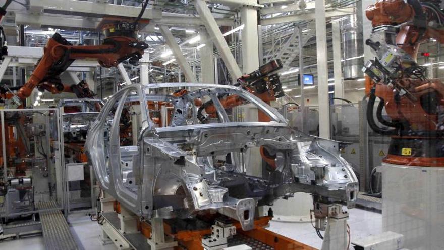 Centro de producción del Audi Q3 en Martorell (Barcelona).