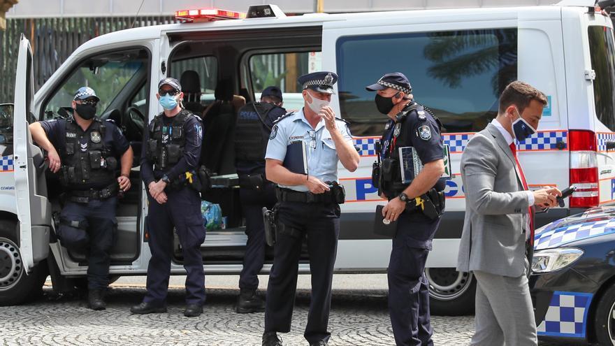Detenidas 19 personas en Nueva Zelanda durante protestas contra el confinamiento