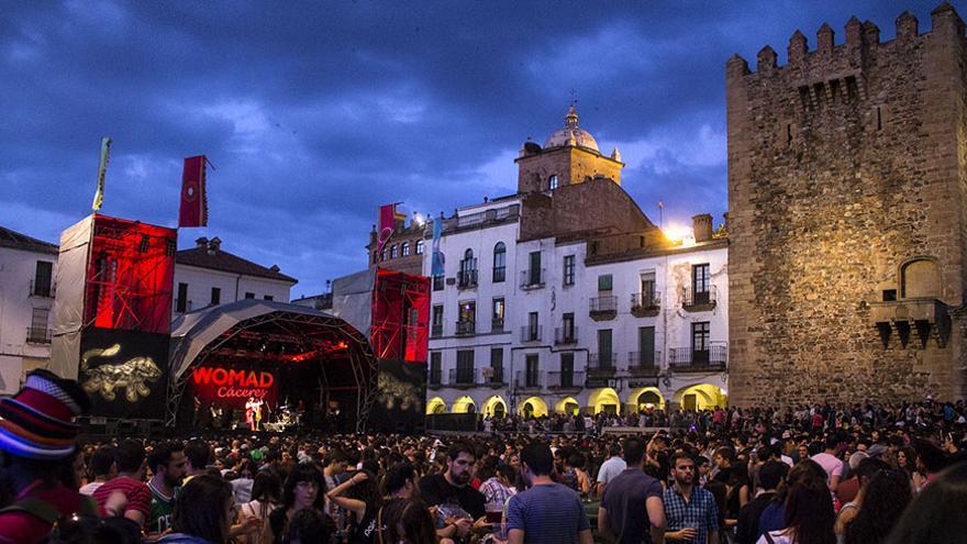 Festival Womad en Cáceres. Foto: web oficial Womad Cáceres