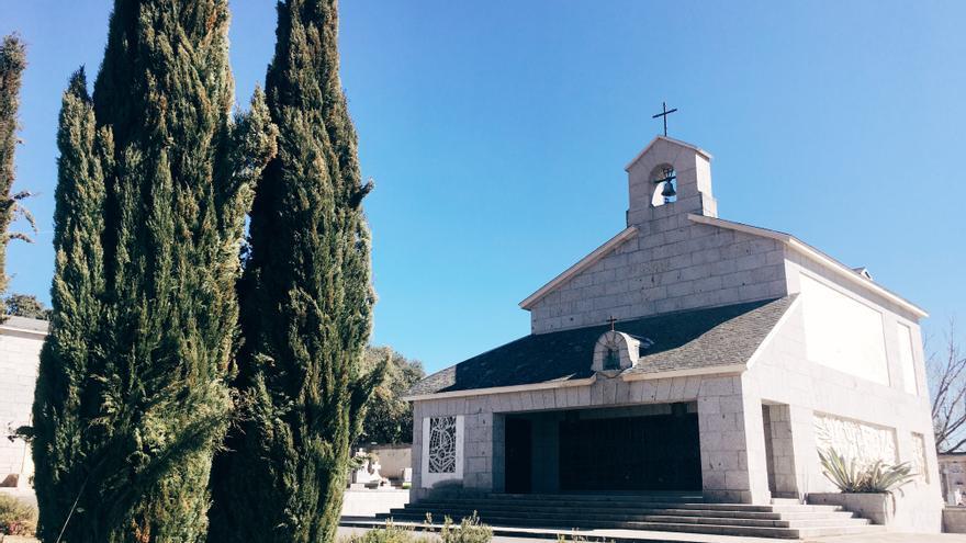 La cripta en la que está enterrada Carmen Polo y a la que se trasladarán los restos del dictador Francisco Franco