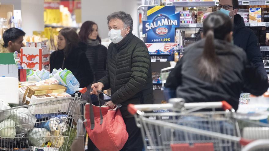 La tasa de inflación en Italia sube en junio un 1,3 % interanual