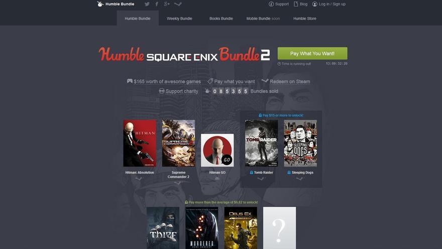 square enix humble