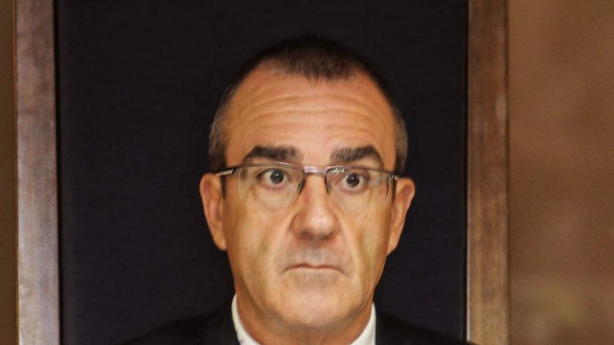El magistrado Juan Pedro Yllanes, durante la celebración de un juicio en junio / Foto: EFE