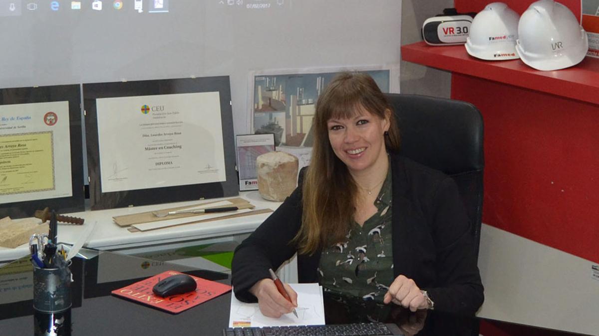 Imagen de archivo de la coordinadora del IAM, Lourdes Arroyo.