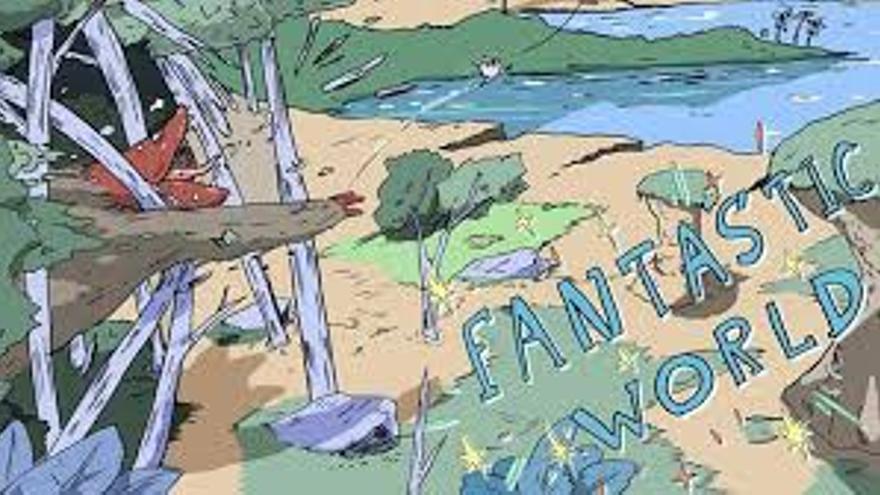 Fantastic World, un webcomic de Ryō Hirano