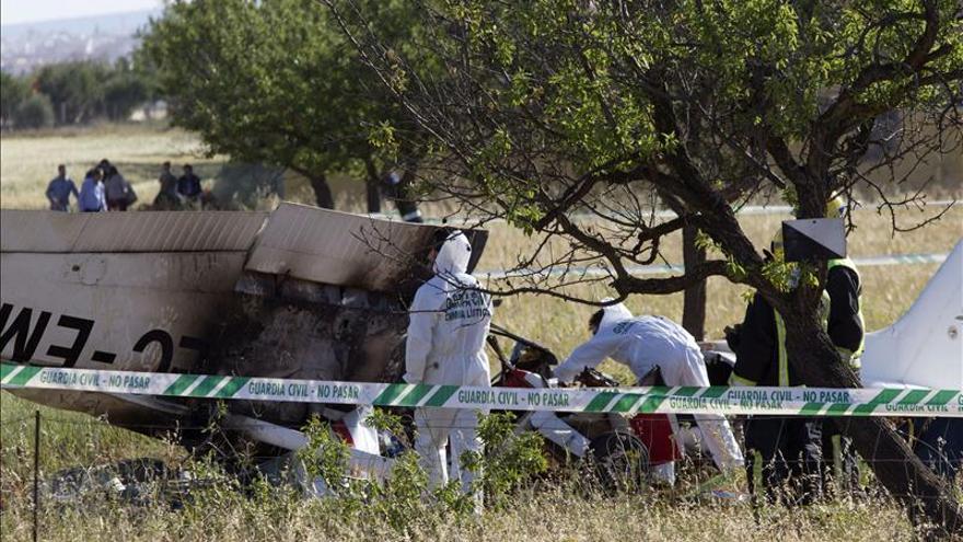 Continúa en estado grave el piloto de la avioneta que se estrelló en Mallorca