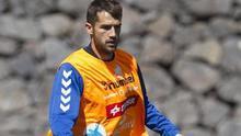 Aitor Sanz, jugador del CD Tenerife. Efe.