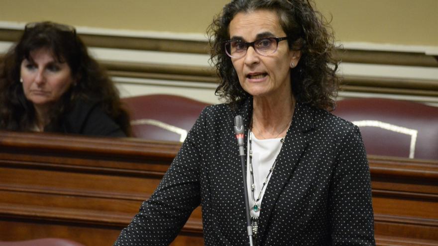 La diputada autonómica de Podemos Asun Delgado.