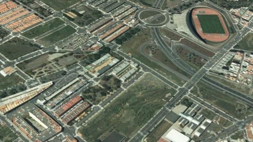 Solar elegido para la construcción del nuevo campus en El Sobradillo