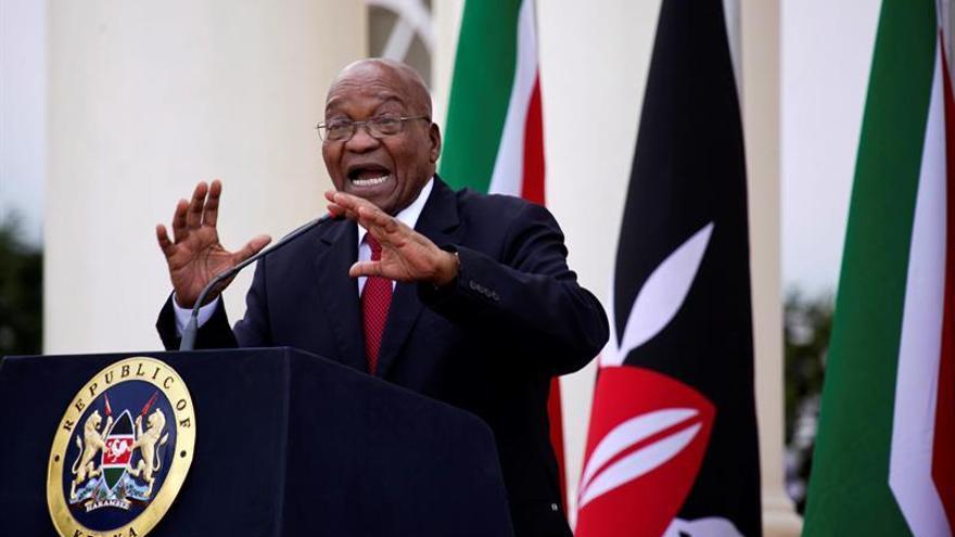 Un informe oficial implica al presidente de Sudáfrica en la concesión de contratos