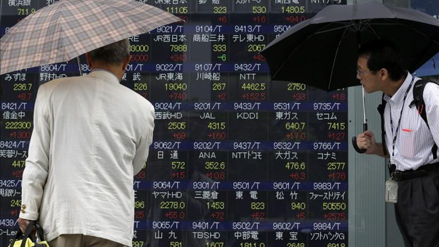 El Nikkei cae un 1,76 por ciento hasta los 19.252,04 puntos