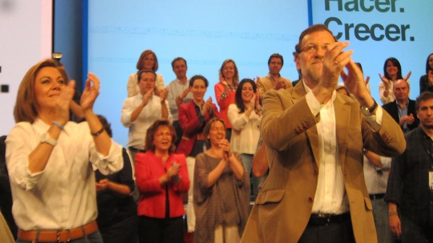 """Rajoy, convencido de la victoria, destaca la moderación del PP, un partido que """"no es esclavo de las modas"""""""