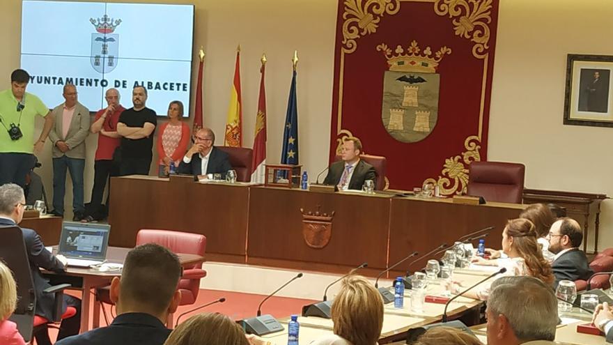 Vicente Casañ (Ciudadanos) nuevo alcalde de Albacete gracias al pacto con el PSOE