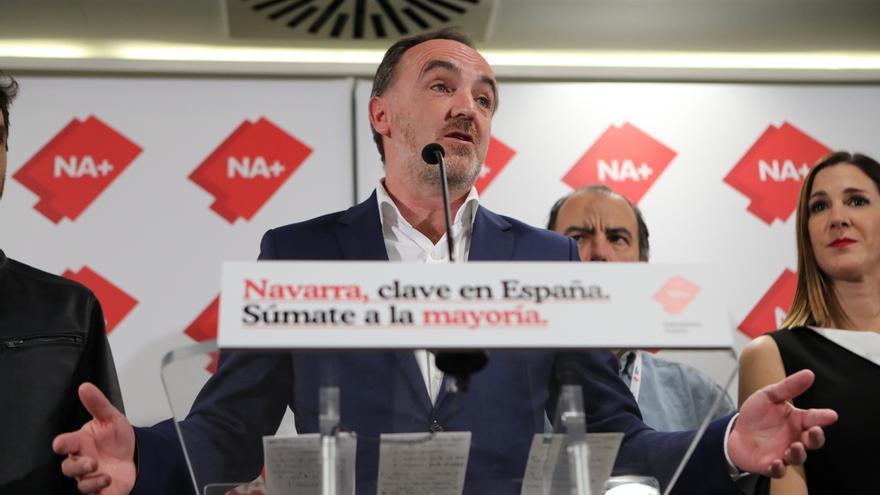 """Esparza solicita a Chivite que exija a sus socios que """"el nuevo estatuto vasco no incluya a Navarra"""""""